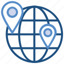 earth, education, globe, location, school locations, world icon