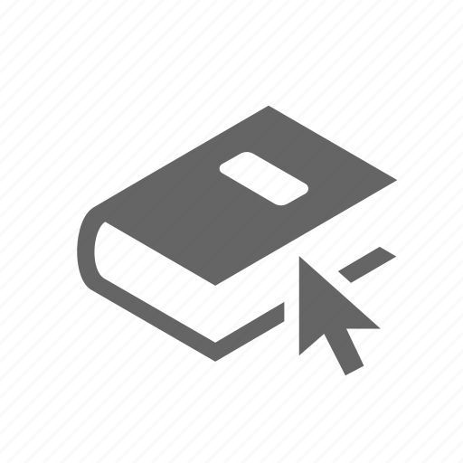 book, e-book, online, study, technology, tutorial, university icon