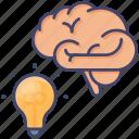 idea, development, creative, process, concept, brain, thinking