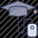 online, courses, university, education, study, college, classes icon
