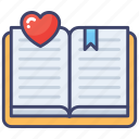 bookmark, reading, favorite, education, book, lessons, classes icon