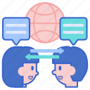 communication, interaction, message icon