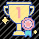 award, trophy, winner