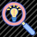 bulb, discover, idea
