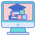 learning, online, study icon