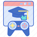 educational, game, play icon