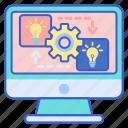 exchange, ideas, online