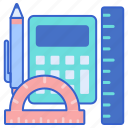 equipment, learning, tools icon