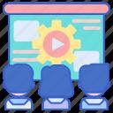 group, online, study, workshop