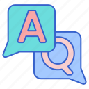 ask, question, answer icon
