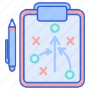 game, strategy, tactics icon