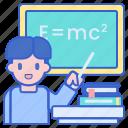 school, teacher, teaching icon