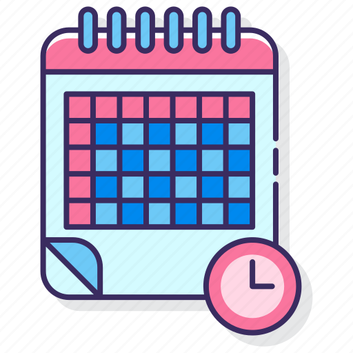 class, education, timetable icon