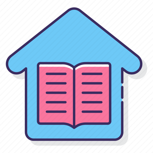 education, home, school icon
