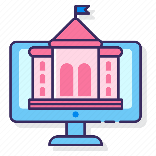 education, online, university icon