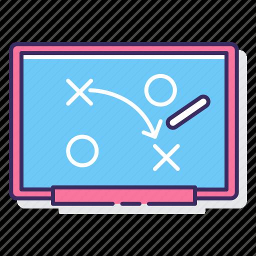 education, plan, strategy icon