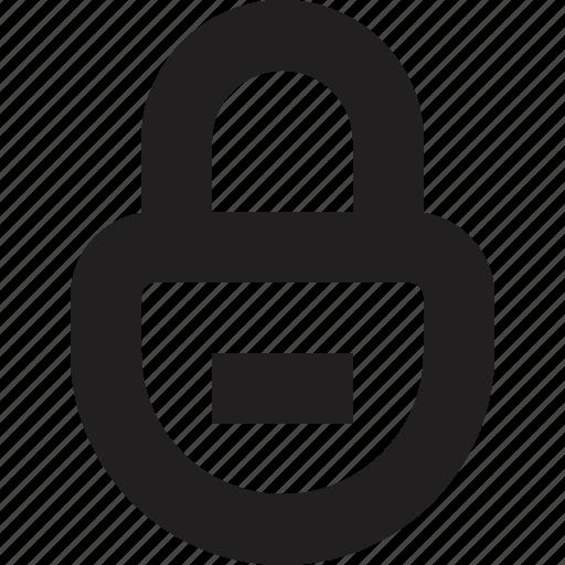 lock, online icon