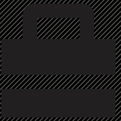 briefcase, online icon