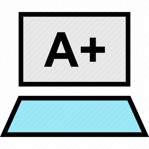 a, education, learning, mac, pc, plus, school icon