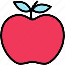 apple, education, learning, school, staff, teacher icon