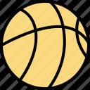 ball, basketball, education, learning, school, sports icon