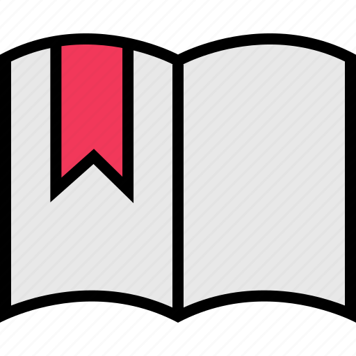 bookmark, education, learning, school icon