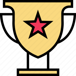 education, learning, school, star, trophy icon