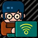 avatar, user, profile, person, male