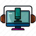 podcast, mic, microphone, sound, music, audio