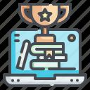 trophy, reward, competition, winner, prize