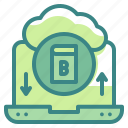 cloud, download, computing, multimedia, interface