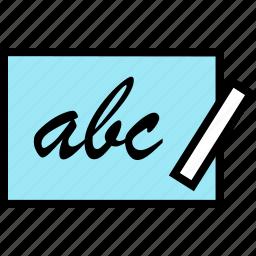 abc, education, online, teaching icon