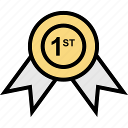 award, education, online, ribbon, teaching icon