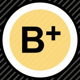 b, education, good, online, plus, teaching icon