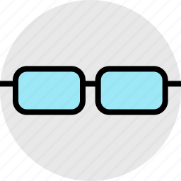 education, glasses, look, online, search, teaching icon