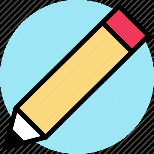 education, online, pencil, teaching, wirte icon