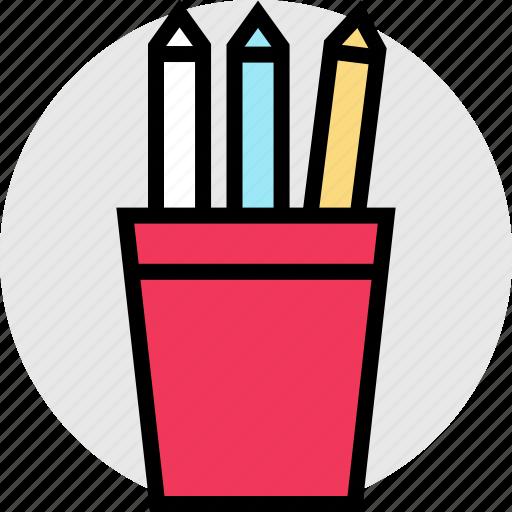 education, online, pencils, teaching icon
