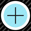 add, education, online, plus, teaching icon