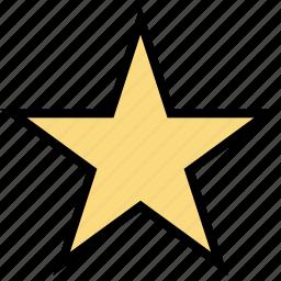 education, favorite, online, star, teaching icon