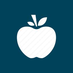 apple, fruit, school, staff, substitute icon
