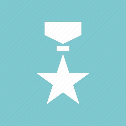 award, honor, ribbon, star, top icon
