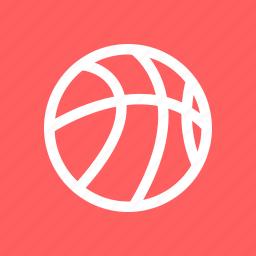 athletics, ball, basketball, sports icon