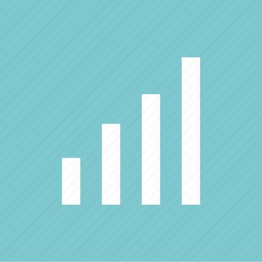 bars, business, graph, report, up icon