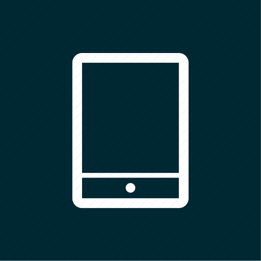 electronic, gadget, ipad, pad, tablet icon