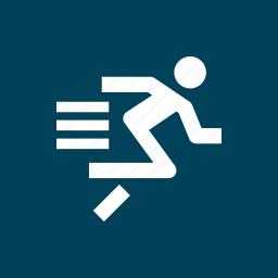 athletics, run, running, sports, sprint icon