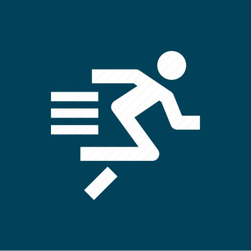 athletics, run, running, sports, sprint icon