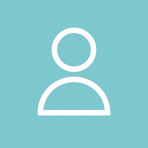 person, profile, staff, student, teacher, user icon