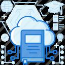 book, cloud, ebook, graduate, graduation, network, sharing