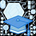 cap, college, course, graduate, graduation, knowledge, professor