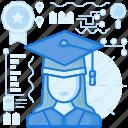 avatar, female, knowledge, person, profile, user, woman